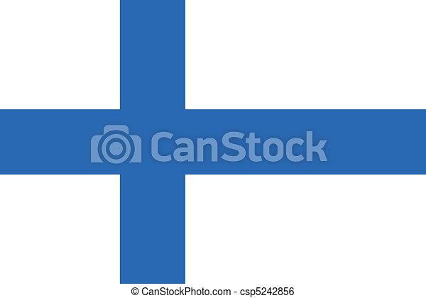 finland flag - csp5242856
