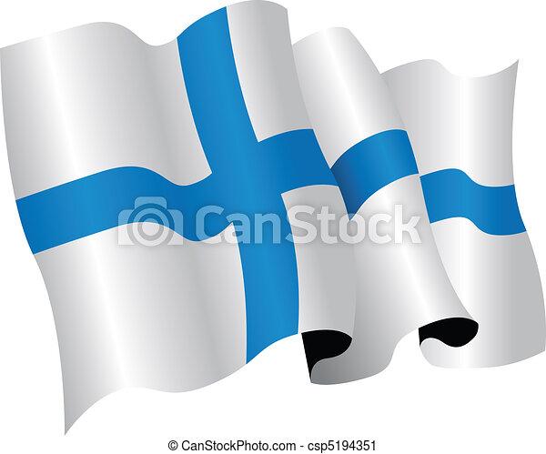 finland flag - csp5194351