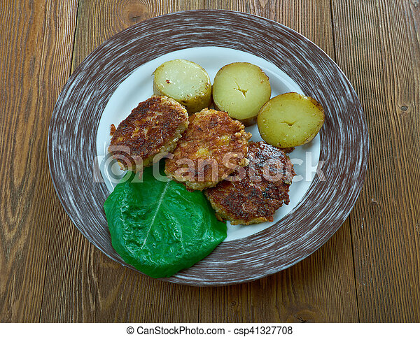 finlandese, salisbury, bistecca - csp41327708