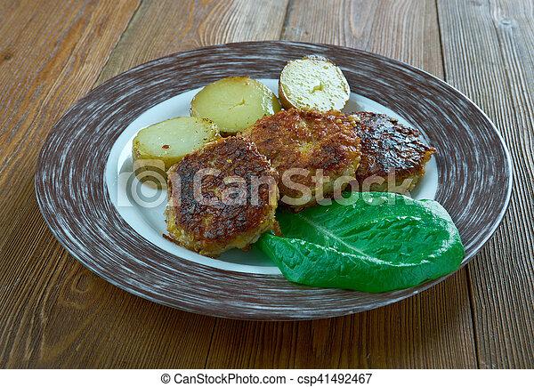 finlandese, salisbury, bistecca - csp41492467