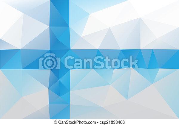 Finnish flag - csp21833468