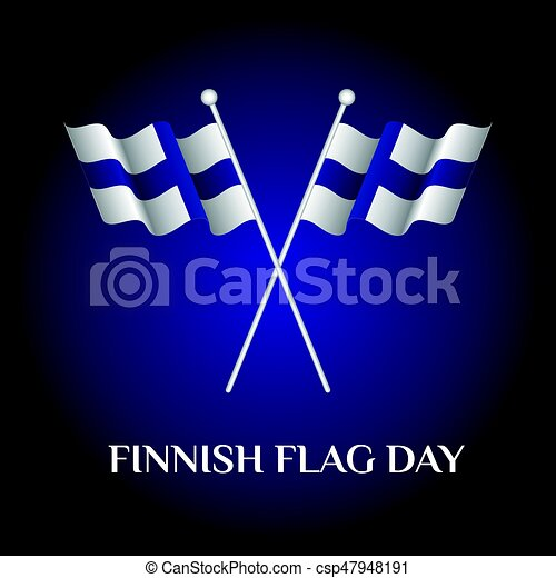 Finnish Flag Day - csp47948191