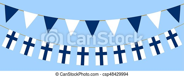 Finnish flag day - csp48429994