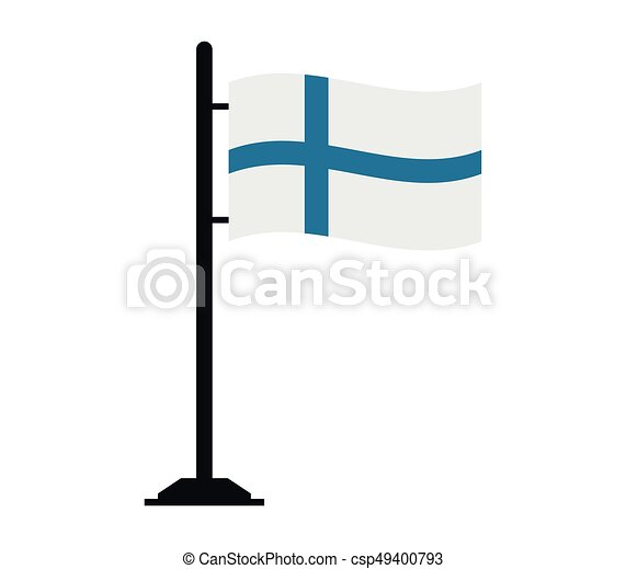 Finnish flag - csp49400793