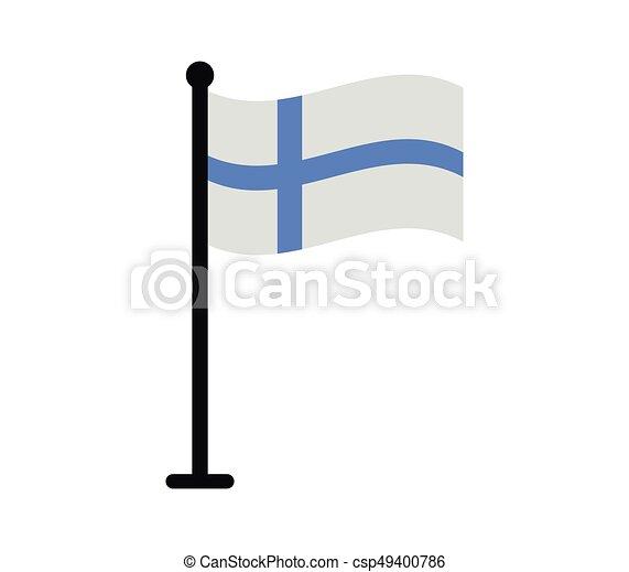 Finnish flag - csp49400786