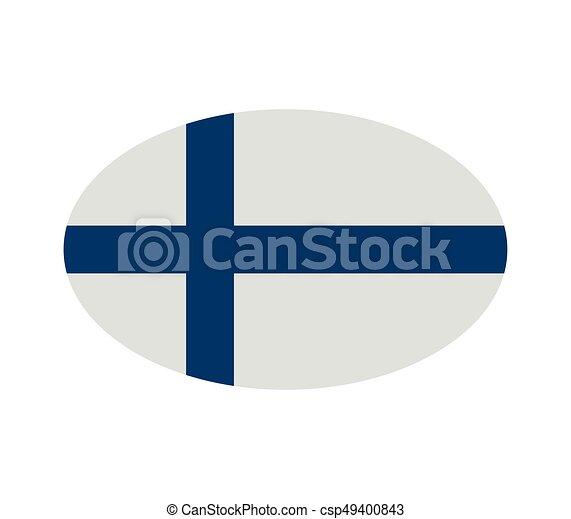 Finnish flag - csp49400843