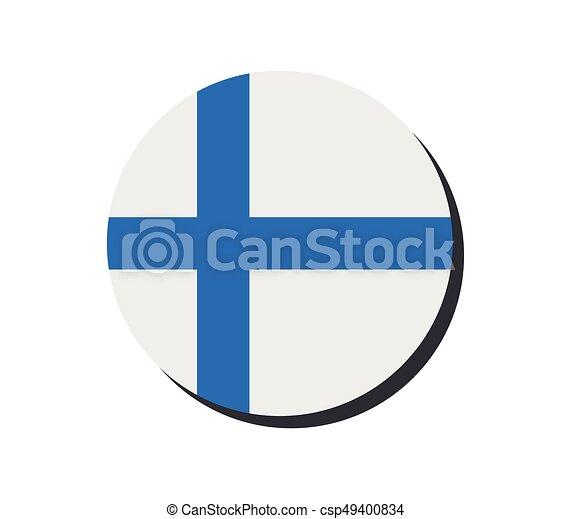 Finnish flag - csp49400834