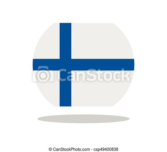 Finnish flag - csp49400838