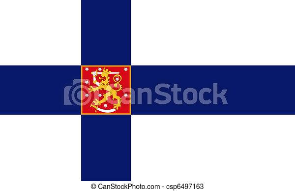 Finnish flag - csp6497163