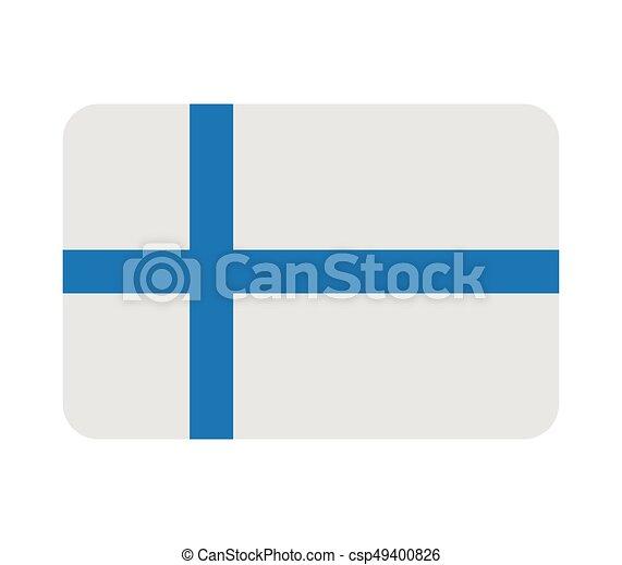 Finnish flag - csp49400826