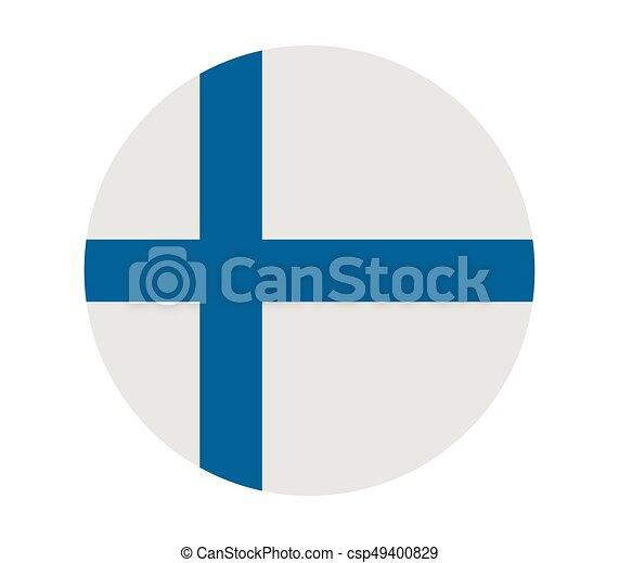 Finnish flag - csp49400829