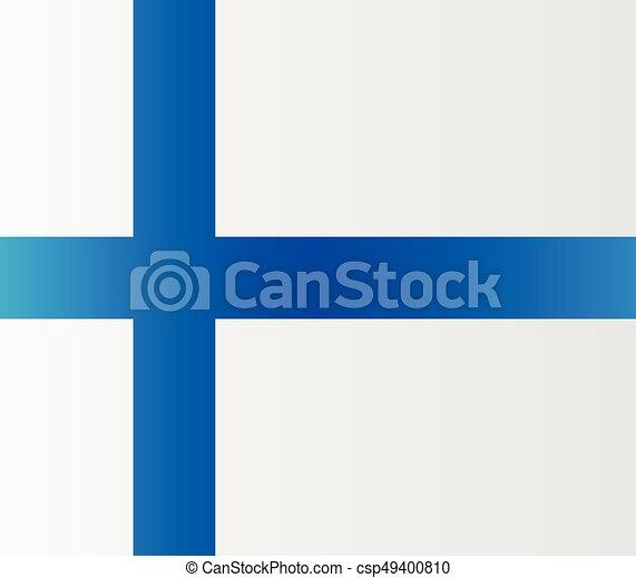 Finnish flag - csp49400810