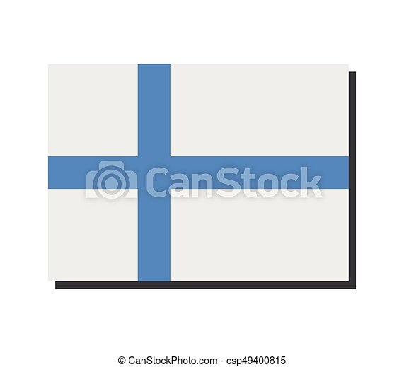 Finnish flag - csp49400815