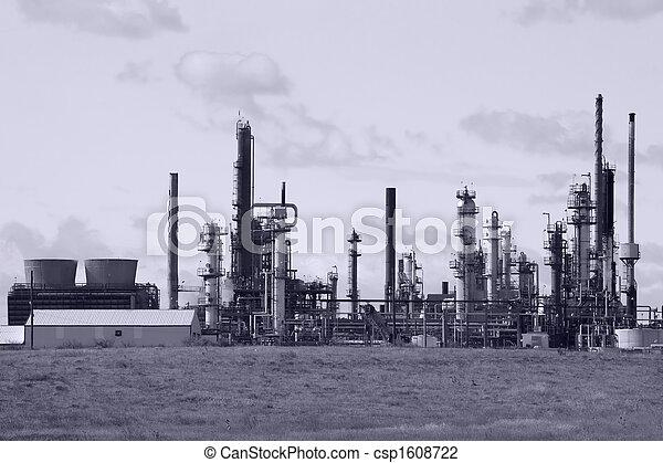 finomító, olaj - csp1608722