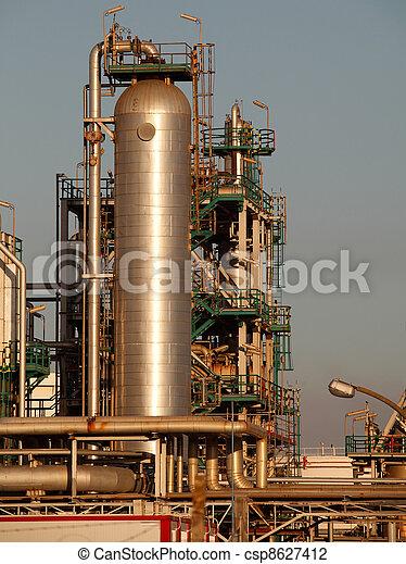 finomító, olaj - csp8627412