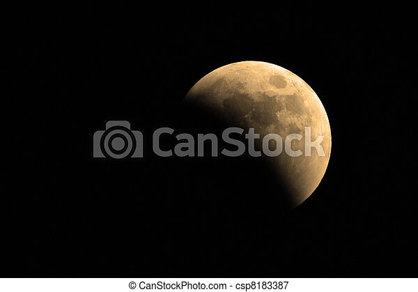 finsternis, lunar - csp8183387