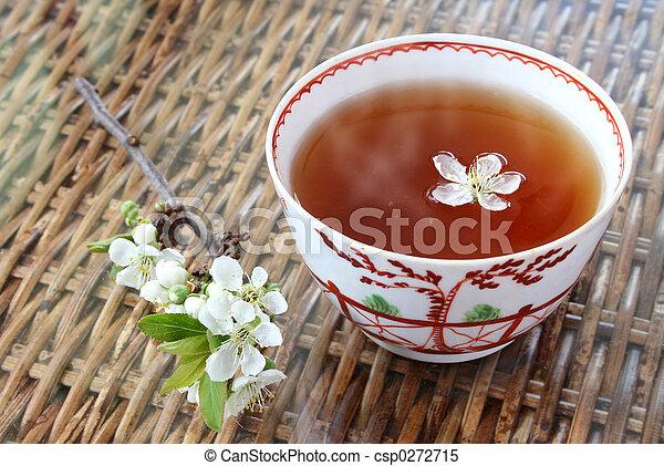 fiore, tè - csp0272715