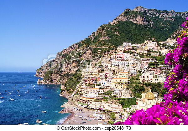 fiori, costa amalfi - csp20548170