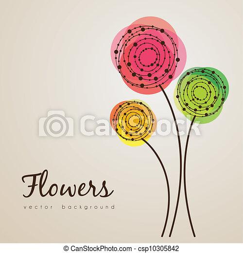 fiori, delicato - csp10305842