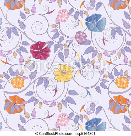 fiori, variopinto - csp5164301