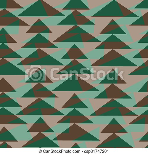 fir-trees, pattern., seamless, fundo, natal - csp31747201