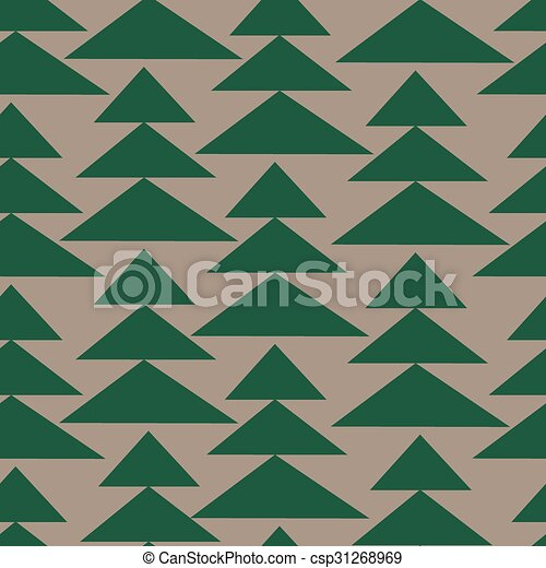 fir-trees, pattern., seamless, fundo, natal - csp31268969