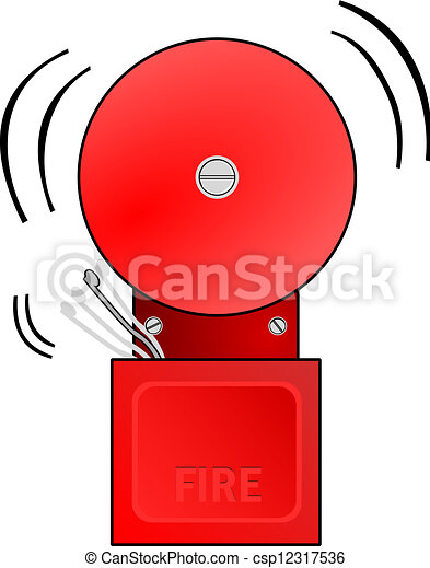 red fire alarm goes off and rings the bell vectors search clip rh canstockphoto com clipart alarm clock clipart alarm clock ringing