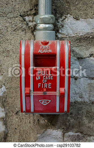 Fire Alarm - csp29103782