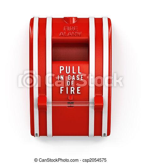 Fire Alarm Pull Station - csp2054575
