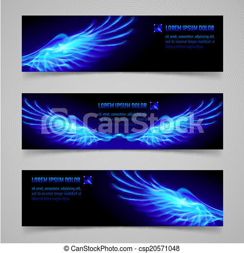 Fire banners - csp20571048