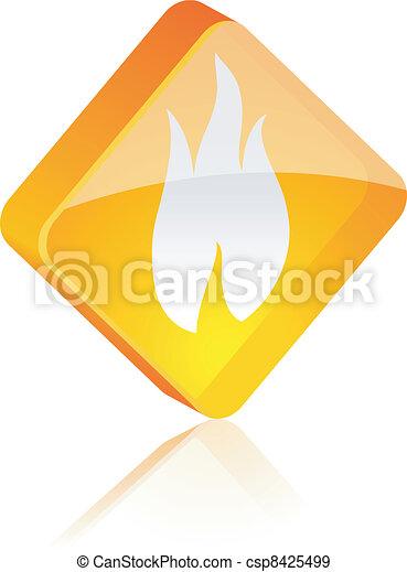 Fire button. - csp8425499