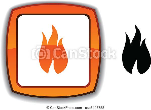 Fire button. - csp8445758