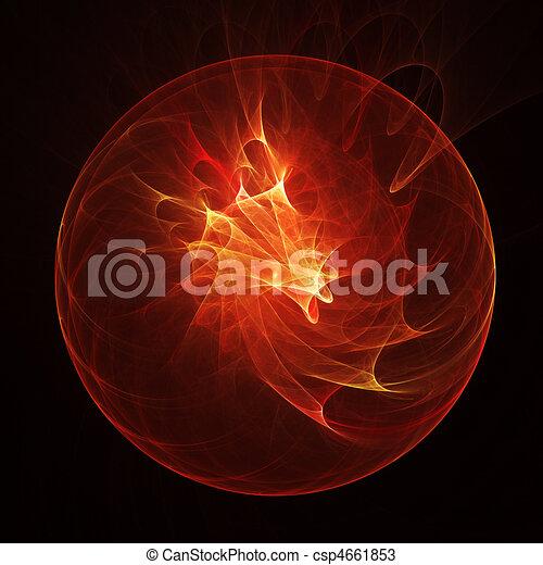 fire dragon egg - csp4661853