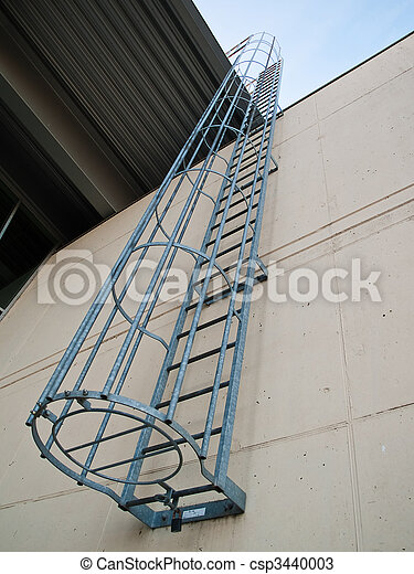 Fire Emergency Escape Ladder   Csp3440003