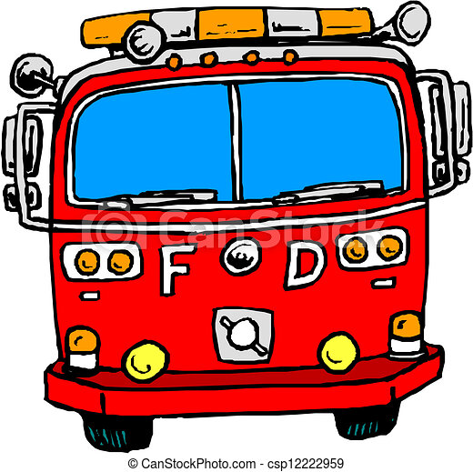 fire engine rh canstockphoto com fire truck clip art free downloads fire truck clip art black and white