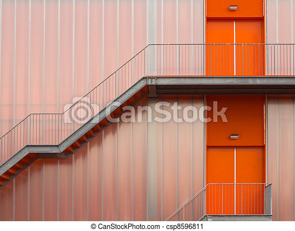 Fire escape stairs - csp8596811
