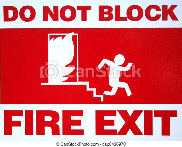 Fire Exit - csp0436970