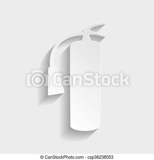 Fire extinguisher icon - csp36238053