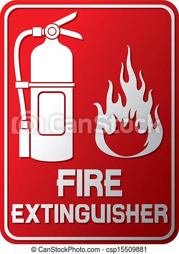 Fire Extinguisher Sign Fire Extinguisher Symbol Label