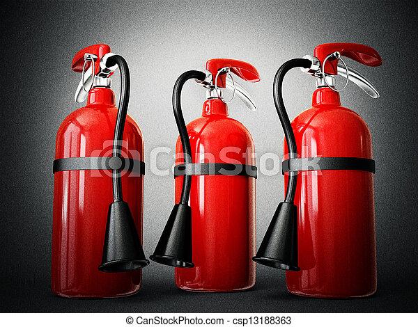 fire extinguisher - csp13188363