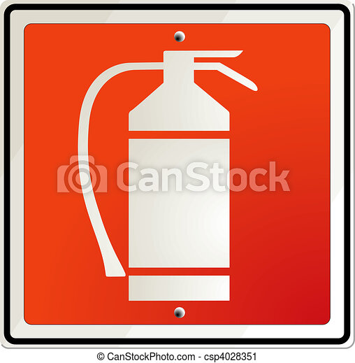 fire extinguisher - csp4028351