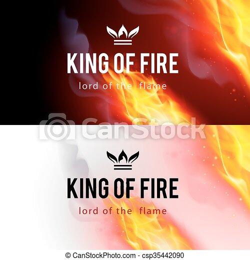 Fire Flames Effect - csp35442090