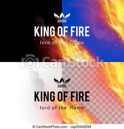 Fire Flames Effect - csp35442094