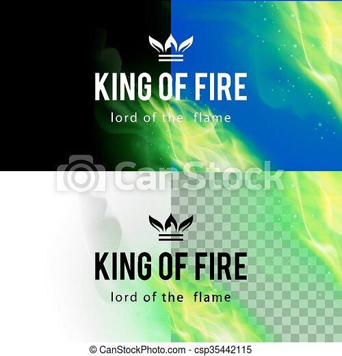 Fire Flames Effect - csp35442115