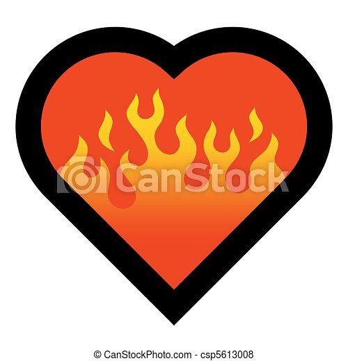 fire heart - csp5613008