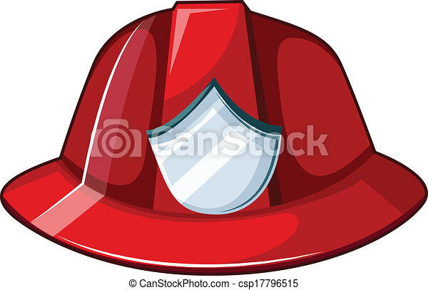 fire helmet illustration of a fire helmet on a white background rh canstockphoto com
