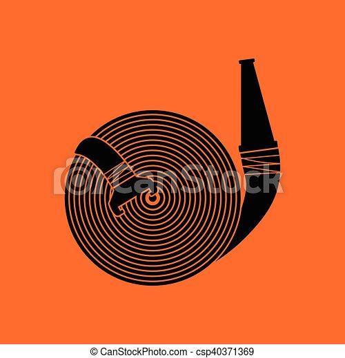 Fire hose icon - csp40371369