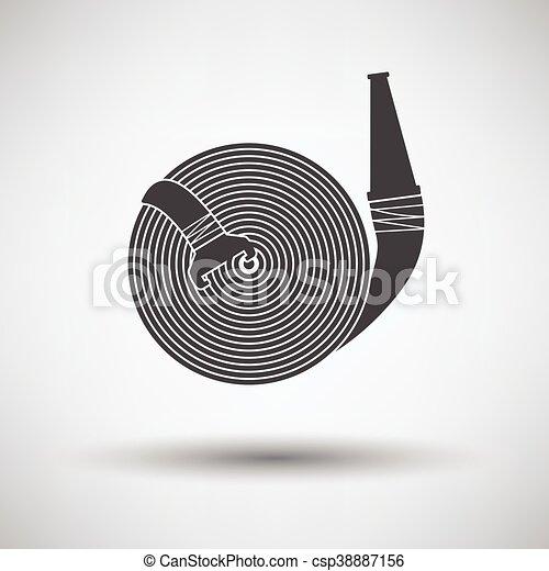 Fire hose icon - csp38887156