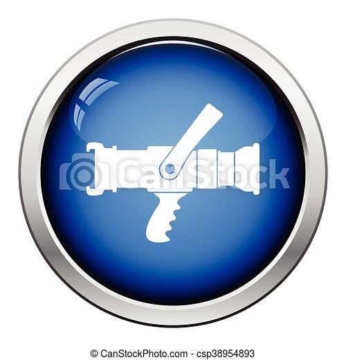 Fire hose icon - csp38954893