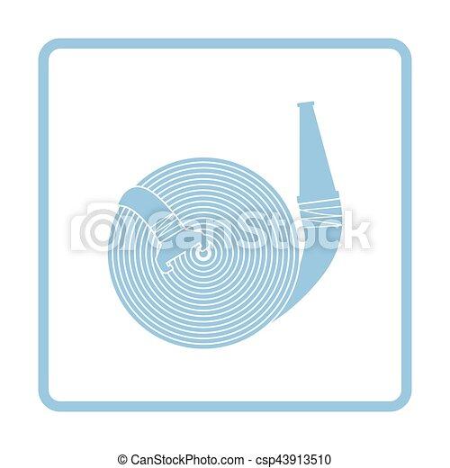 Fire hose icon - csp43913510